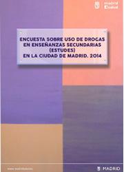 Encuesta sobre uso de drogas en enseñanzas secundarias (estudes) en la ciudad de Madrid.2014