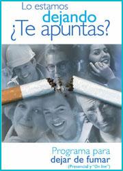 Publicación sobre dejar de fumar
