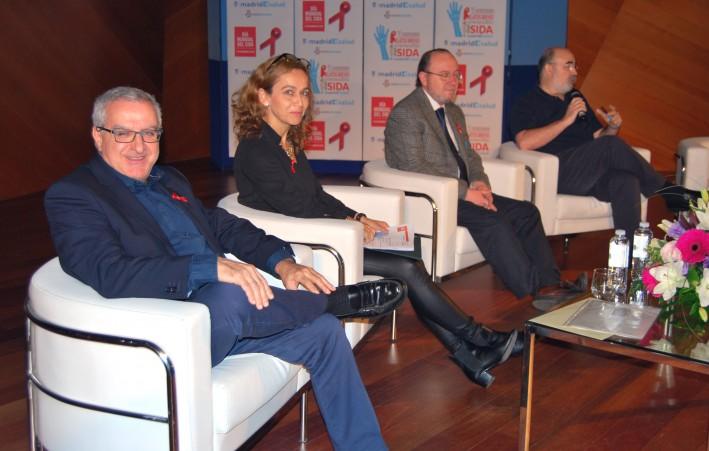 De izquierda a derecha, Jorge del Romero, Alicia Comunión, Francisco Bru y José Verdejo