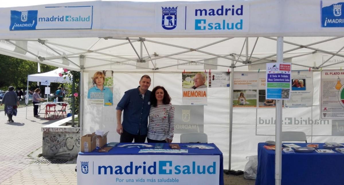Madrid Salud, en la Feria de Entidades de Latina