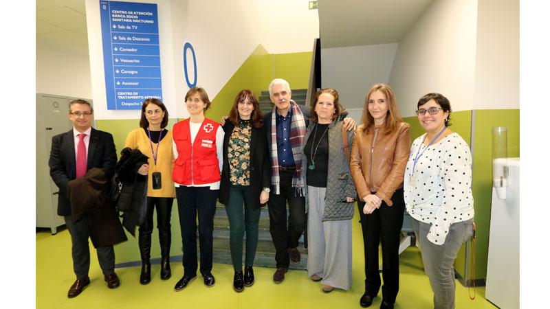 Visita al Centro de Atención Sociosanitaria Integral
