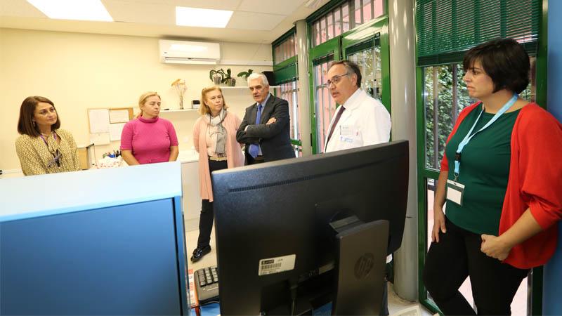 Visita de la Delegada a un CAD