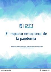 Impacto emocional de la panademia. Profesionales