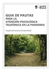 Guía de pautas atención psicológica telefónica en la pandemia