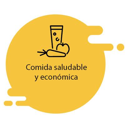 comida saludable y económica
